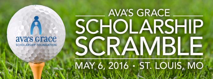 Ava's Grace Scholarship Scramble Banner